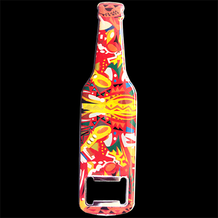 printed bottle opener